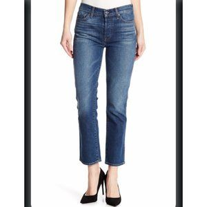 7 For All Mankind FAM Slouchy Cropped Jeans